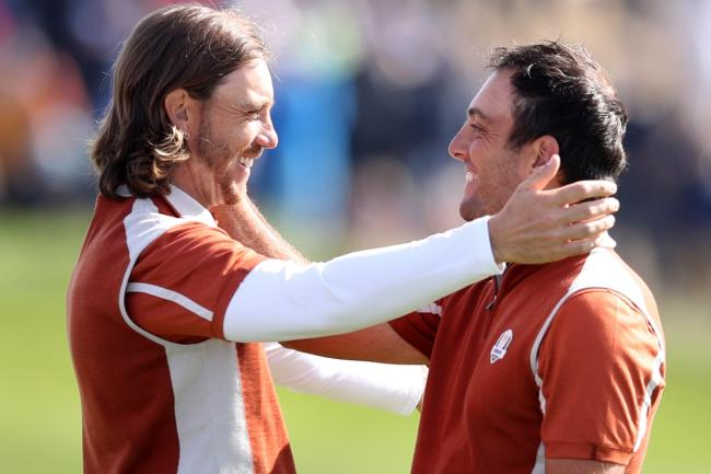 Tommy Fleetwood, left, starred in the last Ryder Cup