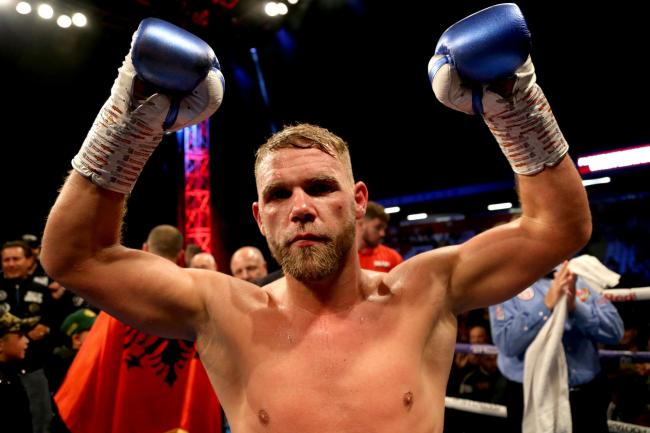 Billy Joe Saunders is the WBO super middleweight champion