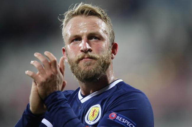 Johnny Russell had hoped to be in action for Scotland on Thursday