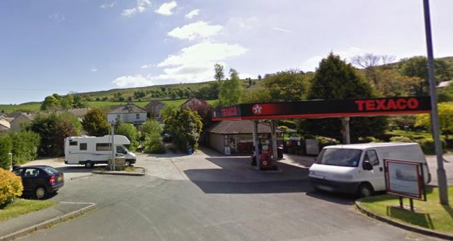 The filling station at Oxenholme