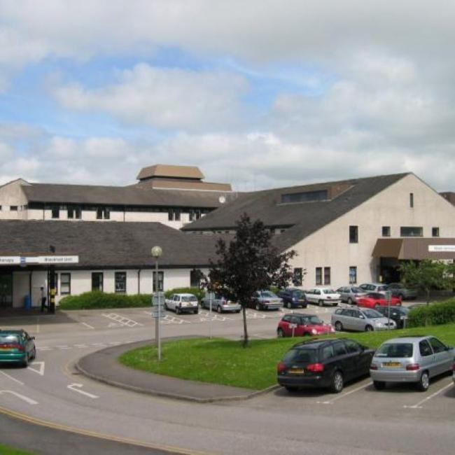 Westmorland General Hospital.