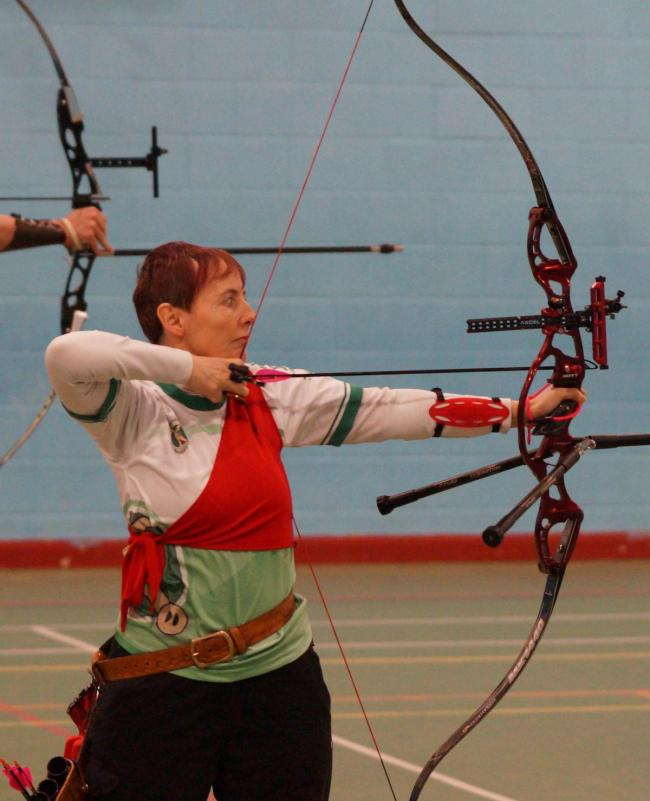 Archers took part in the Kendal Bowmen Indoor Archery Tournament