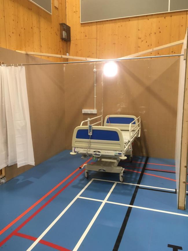 Barrow recovery centre. Picture: Cumbria LRF