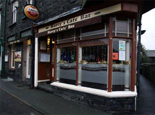 TIME CHANGE: Harry's Cafe Bar in Coniston