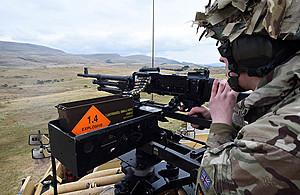 SOLDIER: A live firing exercise at the Warcop Training Area in 2015 Picture: Crown Copyright MOD