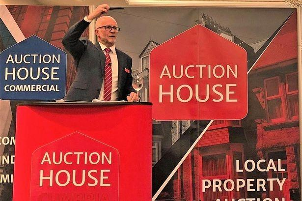 Auctioneer Colin West, who is a popular face on Homes Under the Hammer