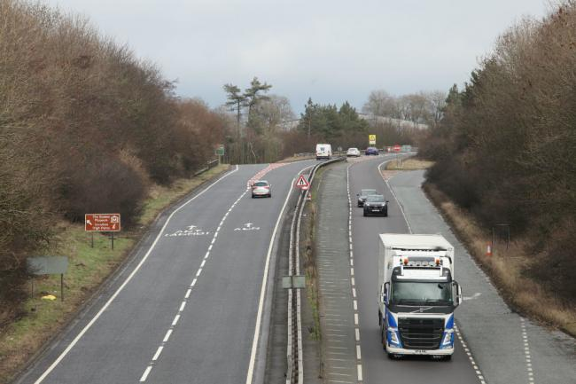 The preferred options unveiled today include a major overhaul of the junction with the A67 - fully dualling the A66 past the junction by converting the existing single carriageway Bowes bypass and providing a full set of westbound and eastbound exit and e