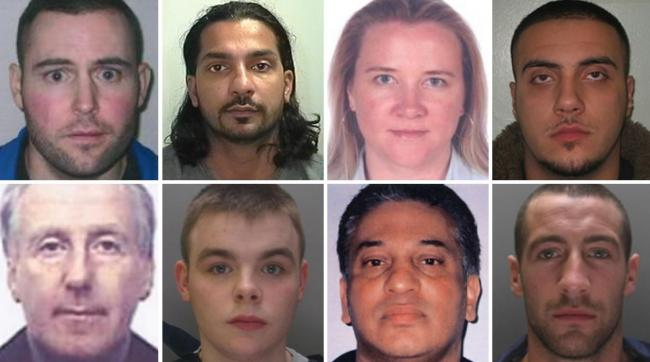 'Do not approach': These are the most wanted criminals in the UK. Pictures: NCA