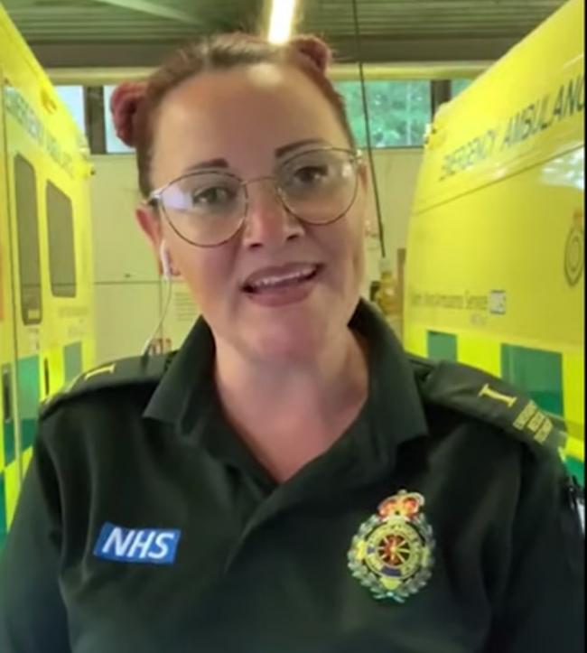 TALENTED: A Kendal paramedic has featured in the North West Ambulance Service cover of Foo Fighters hit 'Times Like These' which has amassed over one million hits and is available to stream now