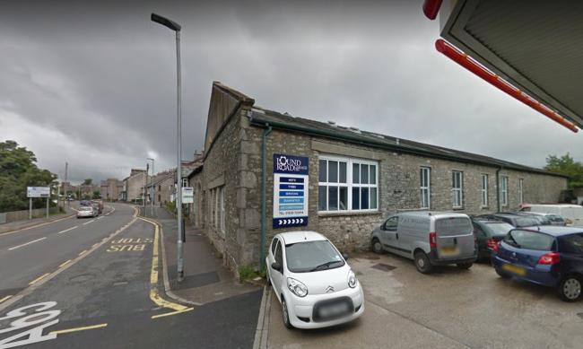 LOCATION: Lound Road Garage in Kendal