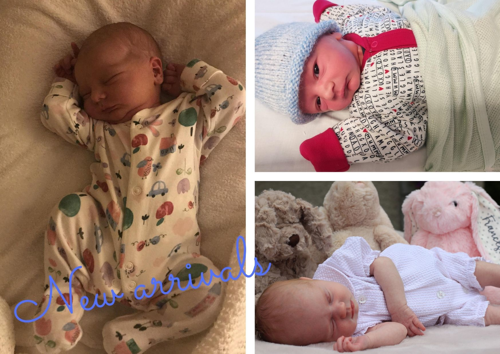 Families share baby photos of their bundles of joy