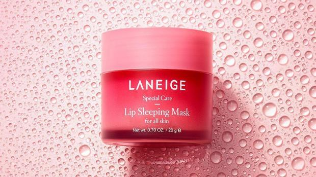 The Westmorland Gazette: Give your lips a boost of moisture overnight with the Laneige Lip Sleeping Mask. Credit: Laneige