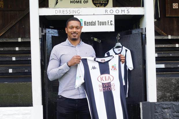 The first interview with Kendal Town's new manager Chris Humphrey
