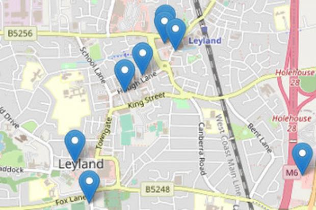 DRAG: an example of how the tool works, looking at Leyland in Lancashire