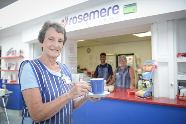 The coffee shop within Rosemere Cancer Centre made a £5,939 profit over the 2019-2020 financial year, despite closing temporarily due to Covid-19