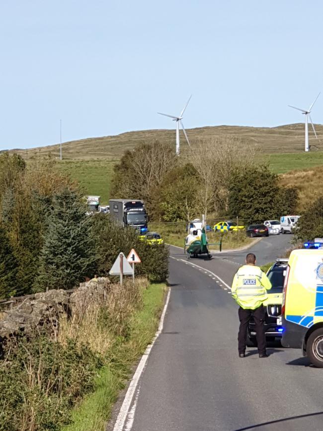 THE SCENE: Picture CumbriaRoadsPol