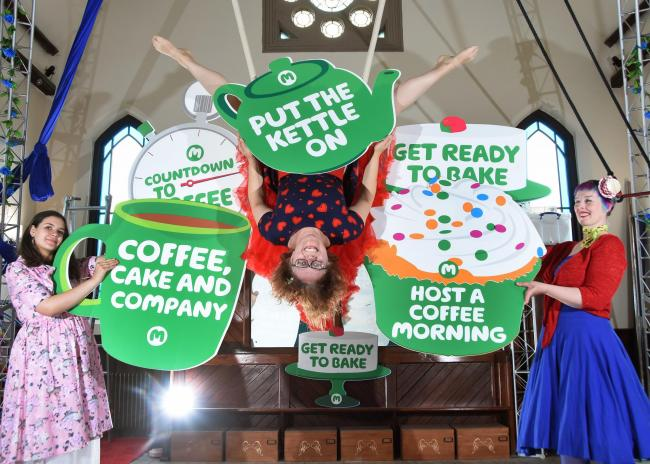 INGLETON: World's biggest coffee morning