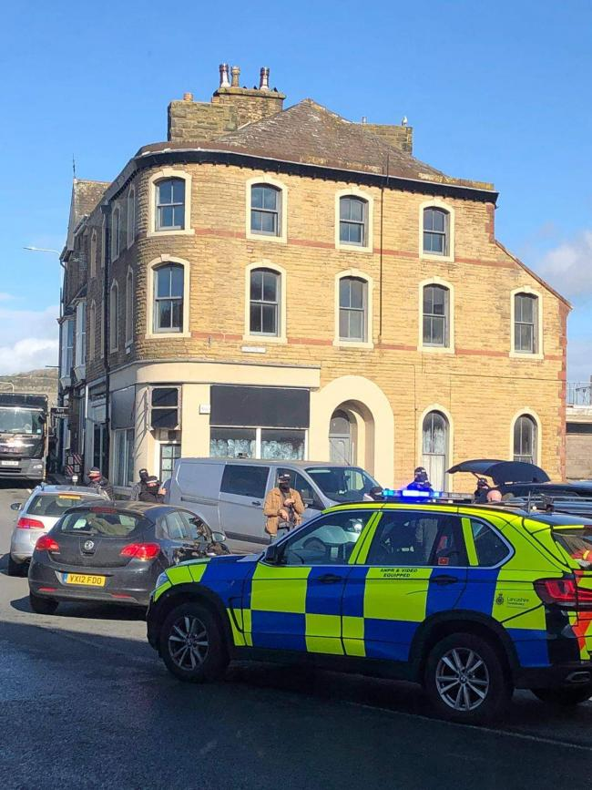 ARMED POLICE: Arrest made in Carnforth