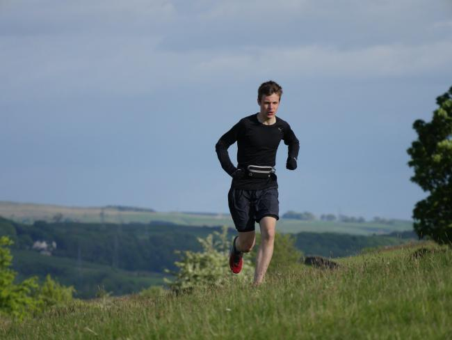 EPIC: James Johnson completed his huge running challenge raising funds for NHS Charities Together
