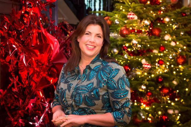 Undated Channel 4 Handout Photo from Kirstie's Handmade Christmas. Pictured: Kirstie Allsopp. See PA Feature TV Allsopp. Picture Credit should read: PA Photo/Channel 4/Keith Davies. WARNING: This picture must only be used to accompany PA Feature TV Al