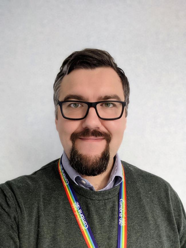 Daniel Dutton, Head of Student Recruitment and Outreach, University of Cumbria