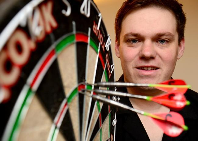 'I'm here to make my name' says Kendal's returning darts star