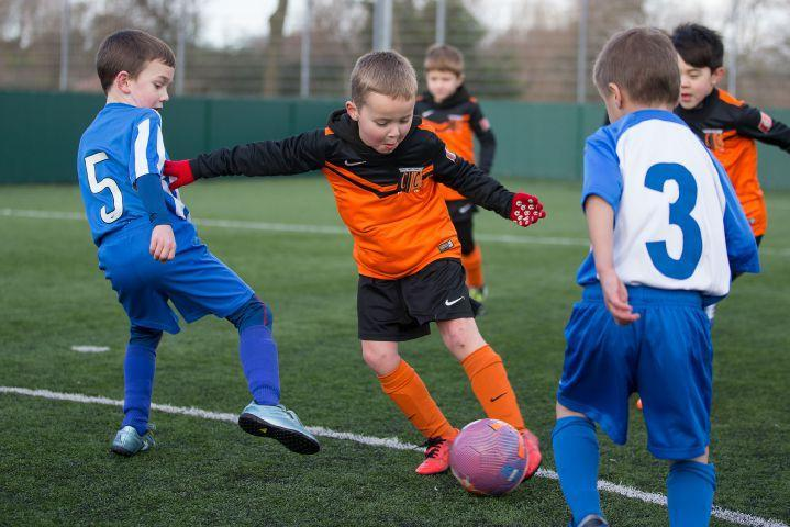 The youngster's won't take a break from Football