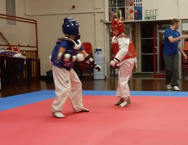 SPARRING: Cumbria TKD continue to strive through lockdown