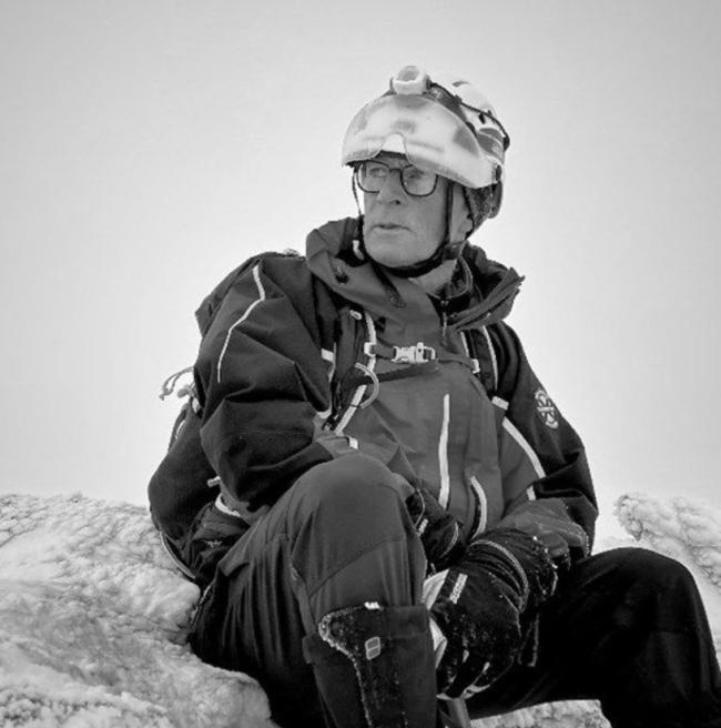RESCUER: Support has poured in for Chris Lewis, 60, since he was seriously injured on a mountain rescue callout
