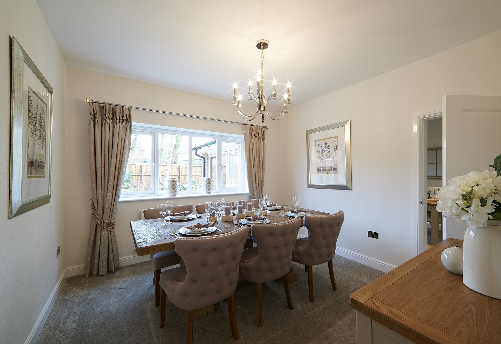 ROOMY: Inside the property on Stonecross Meadows. Picture: Zoopla