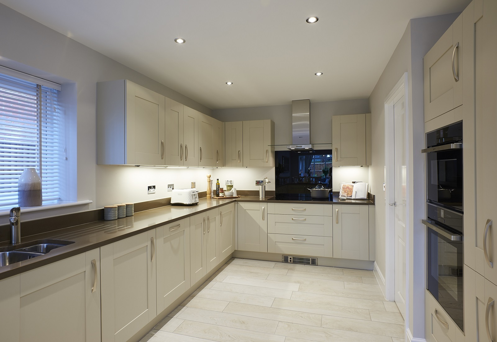 BIG: The kitchen at the property on Stonecross Meadows. Picture: Zoopla