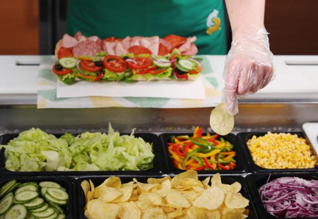 The Westmorland Gazette: The sandwich chain has made the change at every UK store. (Subway)