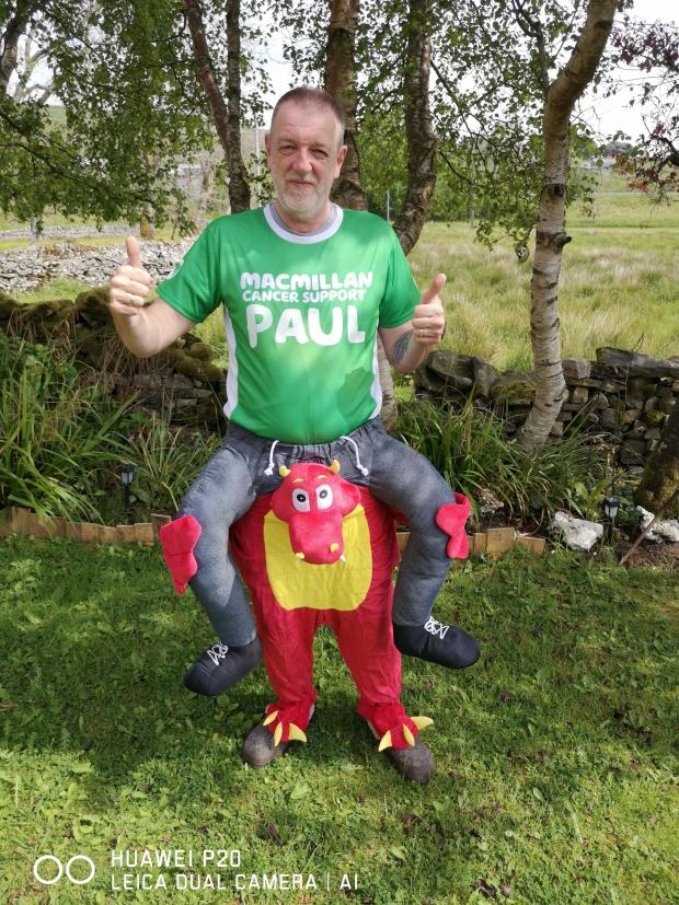 The Westmorland Gazette: FUNDRASING: Mr Turnbull in his outfit for the Great North Run, in a aid of Macmillan Cancer Support