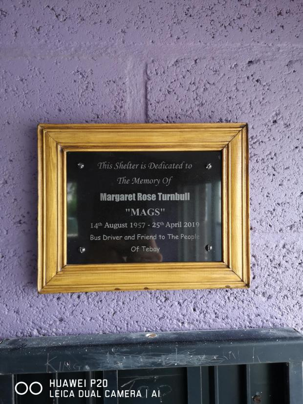 The Westmorland Gazette: REMEMBERING: A plaque dedicated to Mags