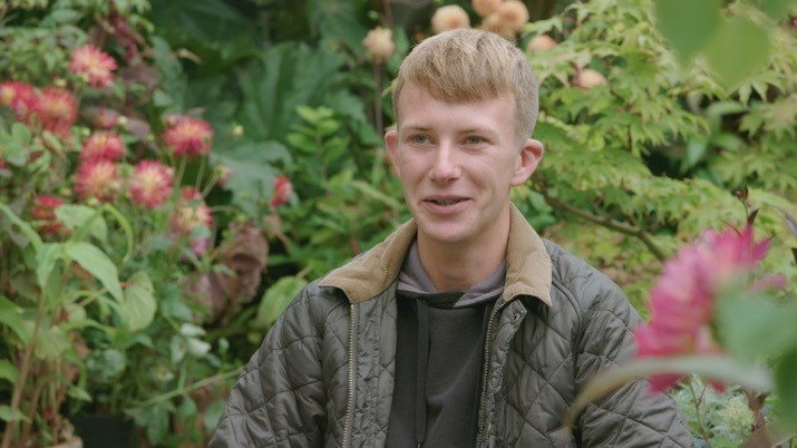'I always wanted to go on the programme'- Young gardener wows on TV show