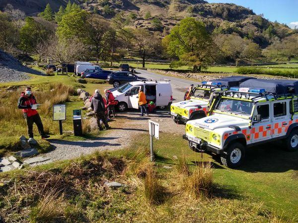 CALL OUT: Coniston Mountain Rescue Team was dispatched