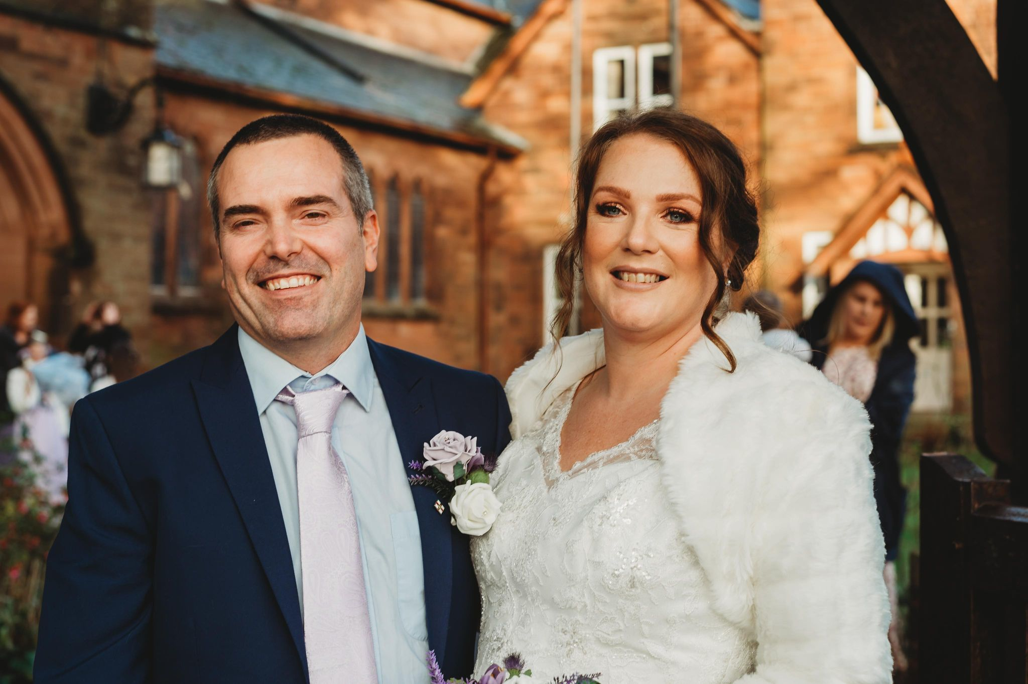HAPPY: The newlyweds first met online in 2017 whilst living in Guernsey. Kolette Cartmel Photography