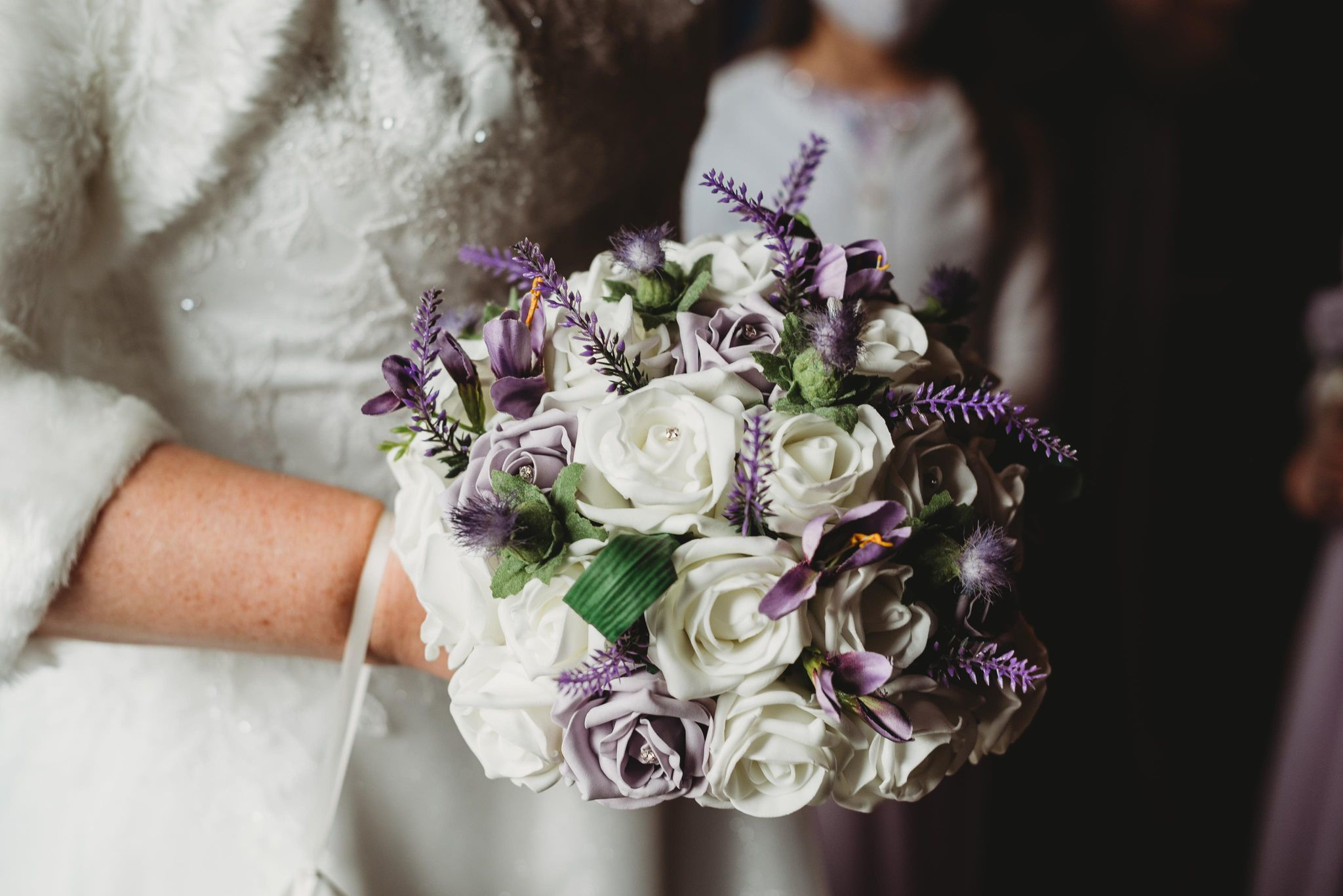 BEAUTIFUL: The couple described their wedding as 'intimate' and 'special'. Kolette Cartmel Photography