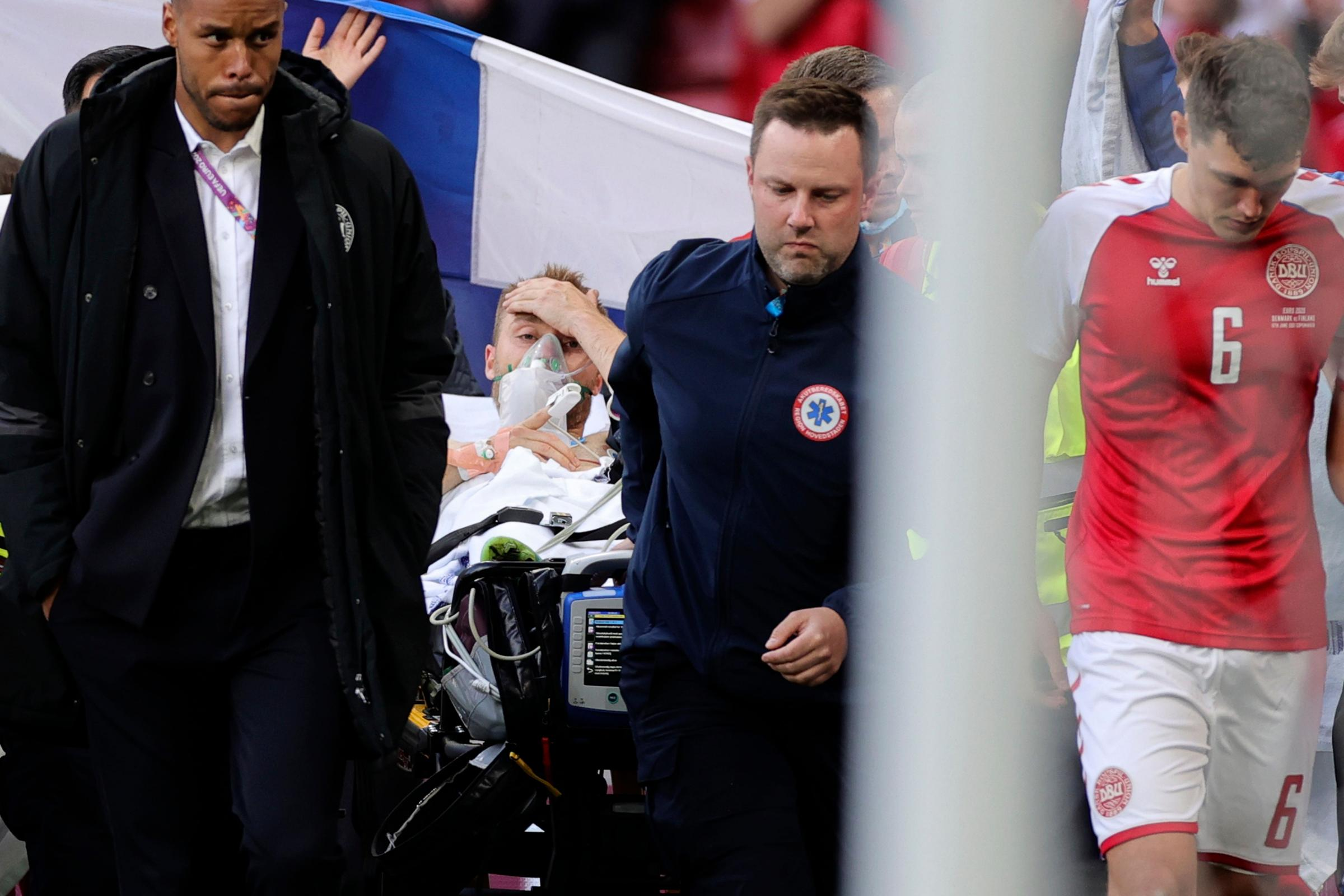 Football world unites around Christian Eriksen | The Westmorland Gazette
