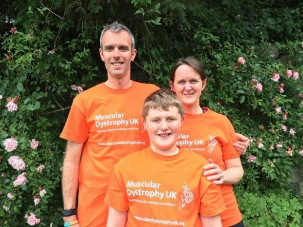 The Westmorland Gazette: FAMILY: Sam and Sue Taylor with son Will