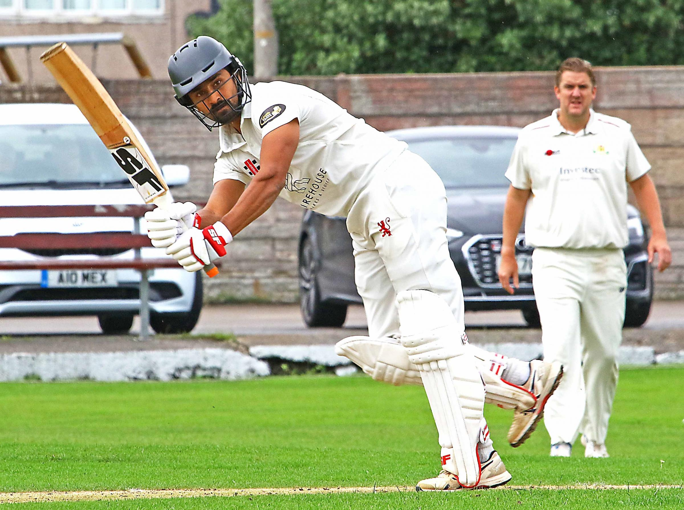 CRICKET: Shrikant Mundhe (Pic: Tony North. Report: Richard Edmondson)