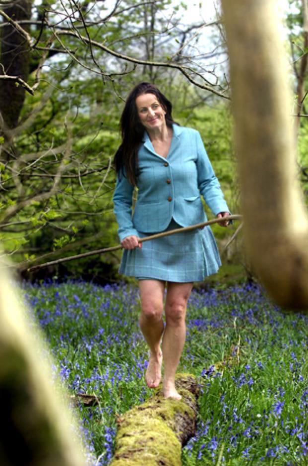 The Westmorland Gazette: TREADING CAREFULLY: Alison O'Neil goes walkabout barefoot