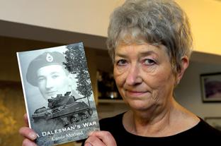 Mrs Carole Moreland has written a book about the ww2 with all proceeds going to charity.