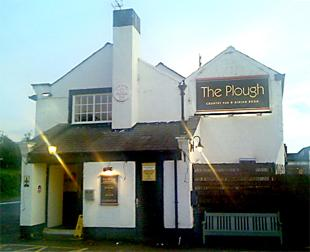 PLOUGHING ON: The service at the Plough was warm and friendly, you need a good appetite