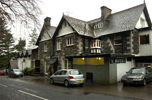 FORMER HOME: The Beech Hill Hotel, Windermere