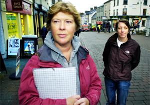 FEARS: Julie Tait and Jan Shorrock believe the Mintfest's future could be in doubt.