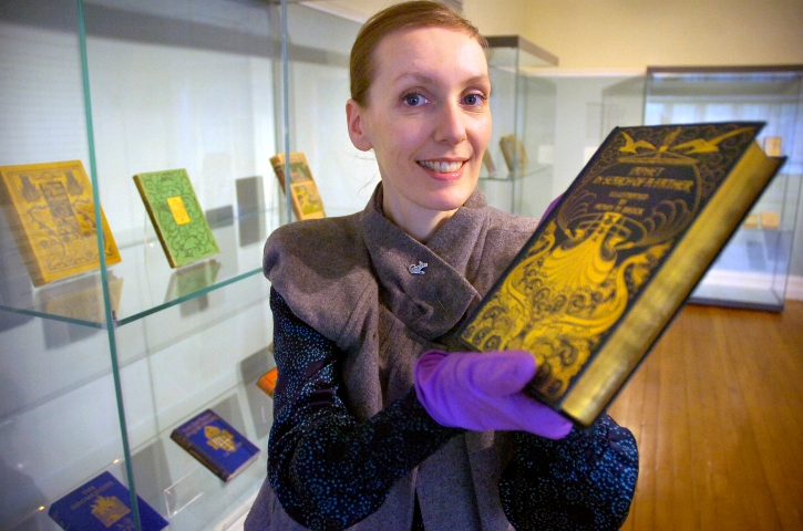 Book cover designs of Arts and Crafts movement are focus of new Blackwell exhibition