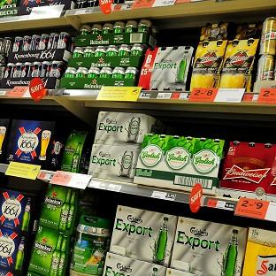 Minimum alcohol pricing will mean drinkers must pay at least 50p per unit of alcohol