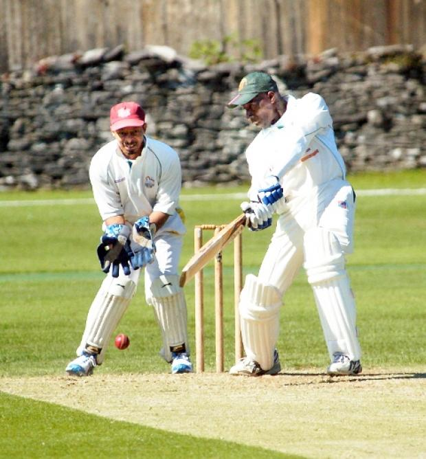 Terry Hunte impresses on his way to 88 not out against Preston on Saturday