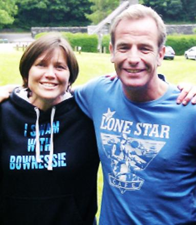Actor Robson Green heads to Windermere
